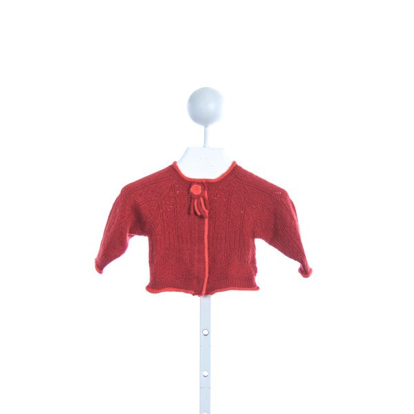 ABSORBA RED SWEATER