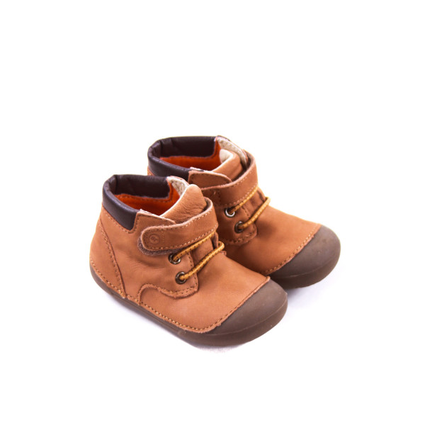 STRIDE RITE TAN BOOTS TODDLER SIZE 4.5 *EUC