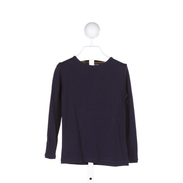 JOHNNIE-B  BLUE    KNIT LS SHIRT