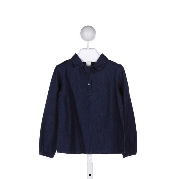 JACADI  CHAMBRAY    CLOTH LS SHIRT