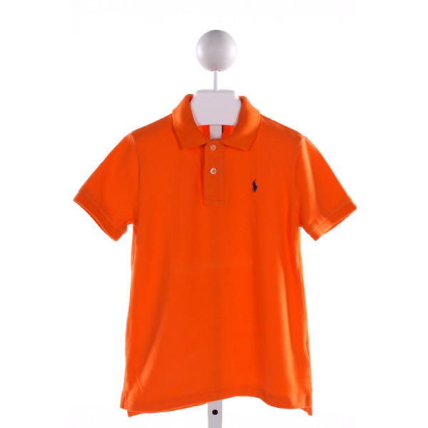 POLO BY RALPH LAUREN  ORANGE    CLOTH SS SHIRT