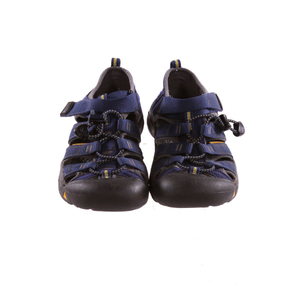 KEEN BLUE AND YELLOW SHOES *SIZE 2, VGU - SOME SCUFFING