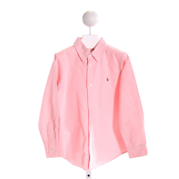 RALPH LAUREN  LT PINK    CLOTH LS SHIRT