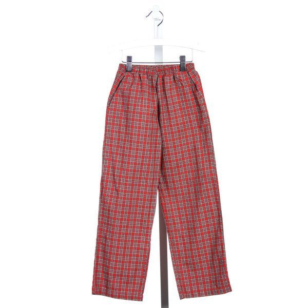 DIMPLES BY EUROPA CHRISTMAS PLAID PANTS