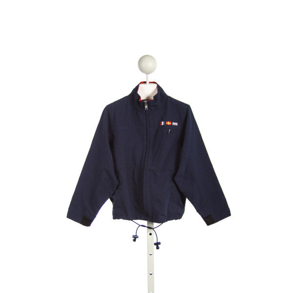 T. F. LAURENCE(FLORENCE EISEMAN) NAVY JACKET WITH FLAGS