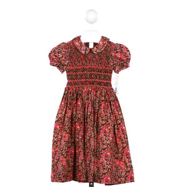 MARCO & LIZZY SMOCKED FLORAL DRESS