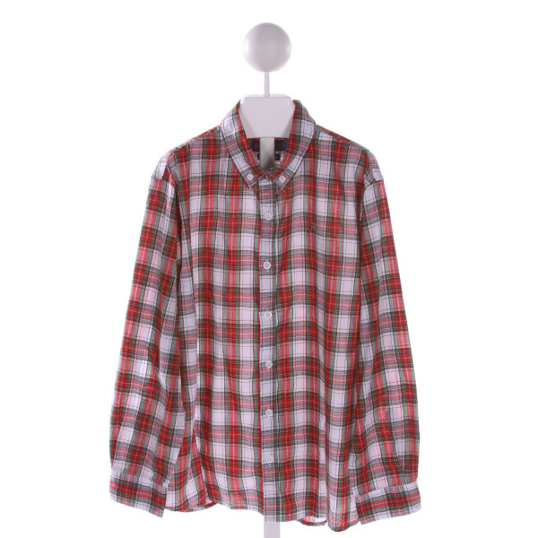 J. BAILEY  MULTI-COLOR  PLAID  CLOTH LS SHIRT