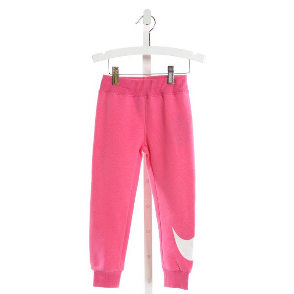 NIKE  HOT PINK   PRINTED DESIGN PANTS
