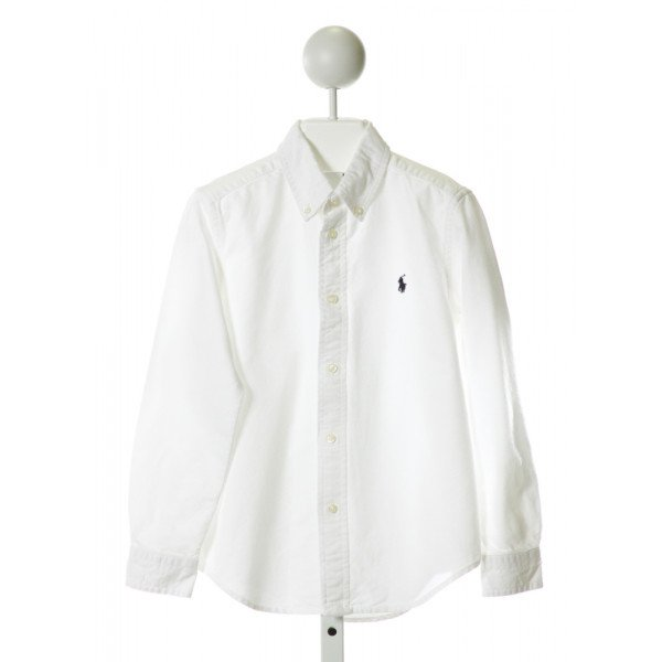 RALPH LAUREN  OFF-WHITE    CLOTH LS SHIRT