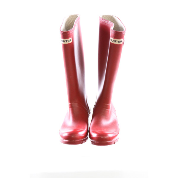 HUNTER RED BOOTS *SIZE 5, VGU - MINOR WEAR AND DISCOLORATION