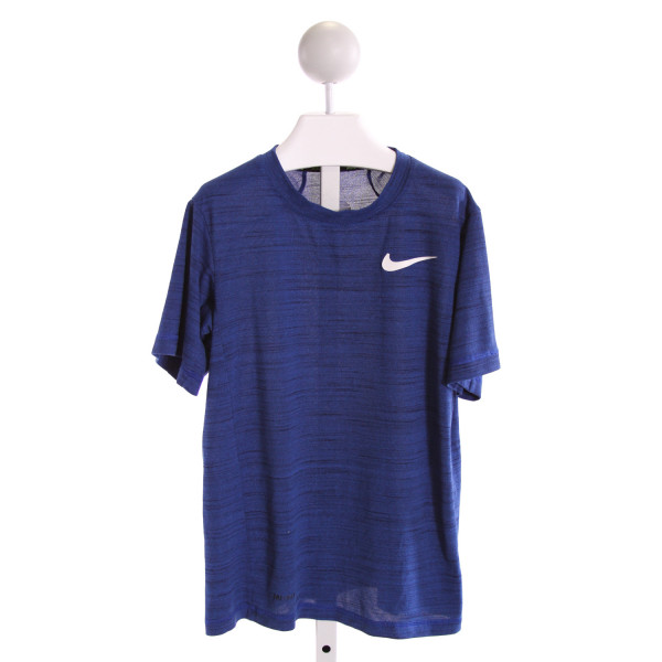 NIKE  ROYAL BLUE   PRINTED DESIGN T-SHIRT
