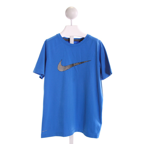 NIKE  LT BLUE   PRINTED DESIGN T-SHIRT