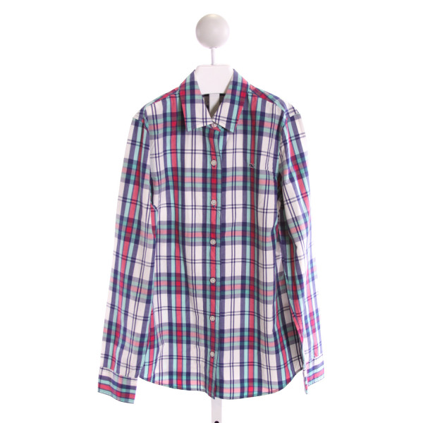VINEYARD VINES  MULTI-COLOR  PLAID  CLOTH LS SHIRT