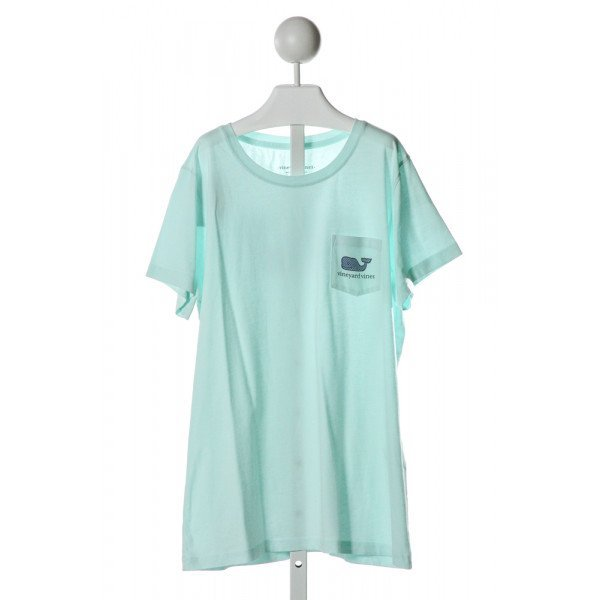 VINEYARD VINES  AQUA   PRINTED DESIGN T-SHIRT