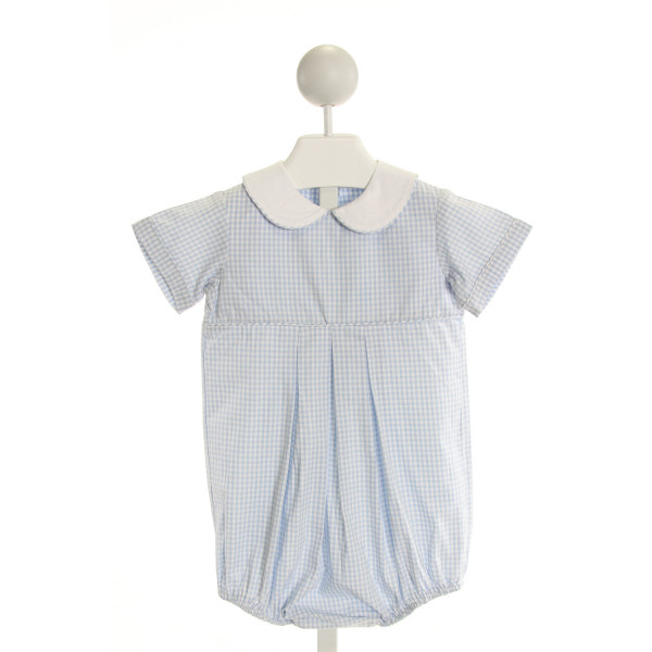 KATE & LIBBY  LT BLUE  GINGHAM  BUBBLE