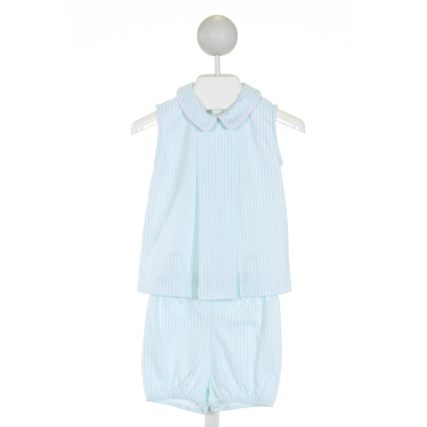 DONDOLO  AQUA  STRIPED  2-PIECE OUTFIT