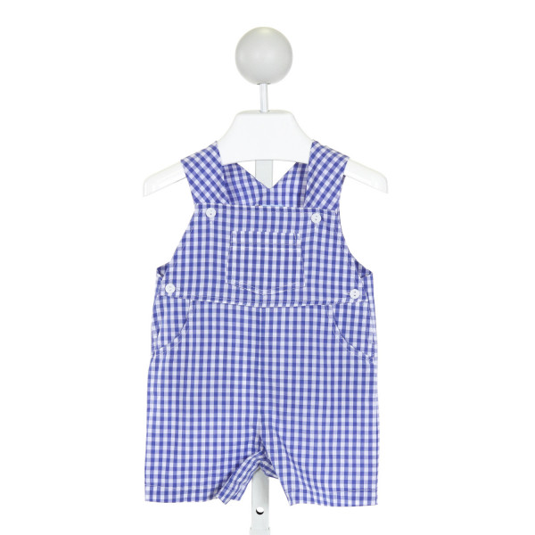 BELLA BLISS  ROYAL BLUE  GINGHAM  JOHN JOHN/ SHORTALL