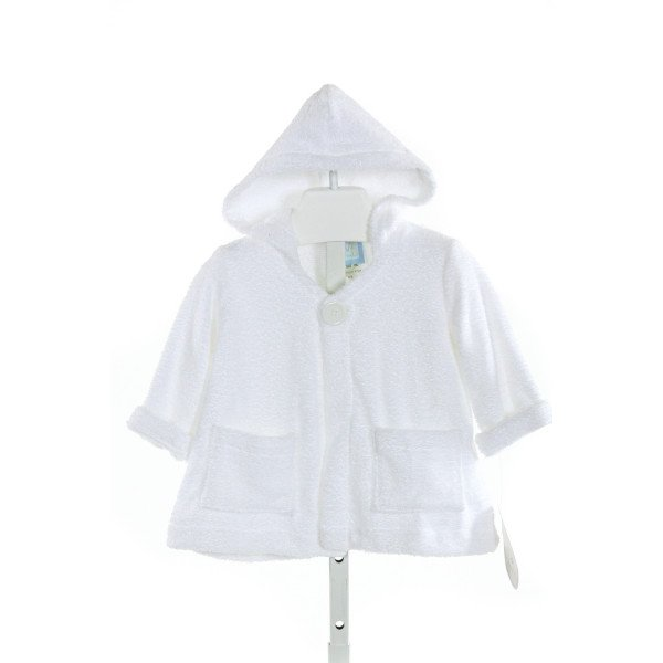 W COLOR WORKS  WHITE TERRY CLOTH   COVER UP