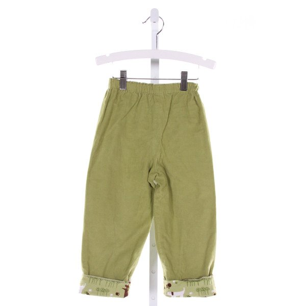 JUST DUCKY  GREEN CORDUROY   PANTS