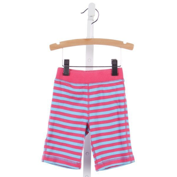 HANNA ANDERSSON PINK AND TURQUOISE STRIPED PANTS *SIZE 60=3-6M