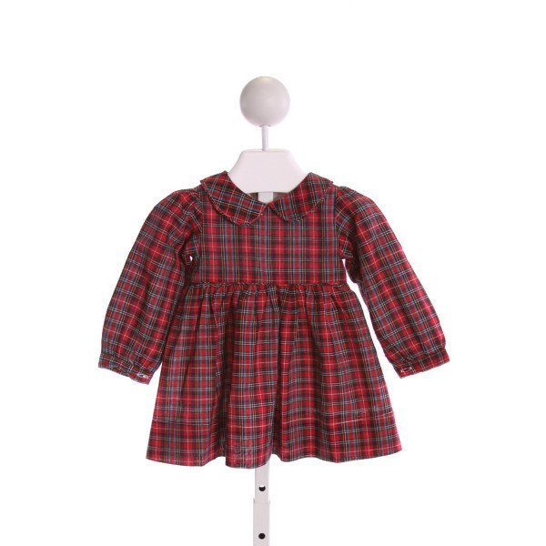 THE OAKS APPAREL   MULTI-COLOR  PLAID  DRESS
