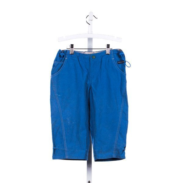 COLUMBIA BLUE SHORTS *SMALL BLEACH STAIN ON SIDE
