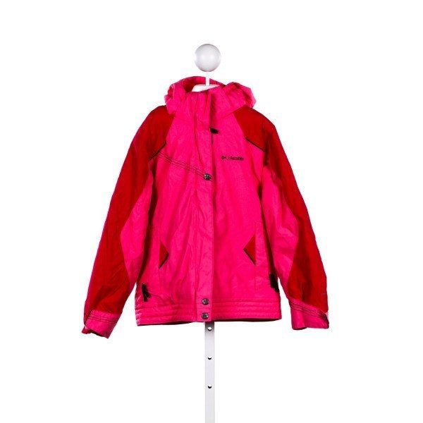 COLUMBIA PINK COAT *SIZE 10/12