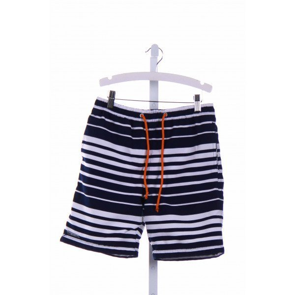 TOOBY DOO  BLUE  STRIPED  SWIM TRUNKS