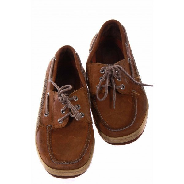 SPERRY BOATING SHOE *MENS SIZE 7.5 BUT RUNS LIKE A CHILDRENS 5.5 *GUC