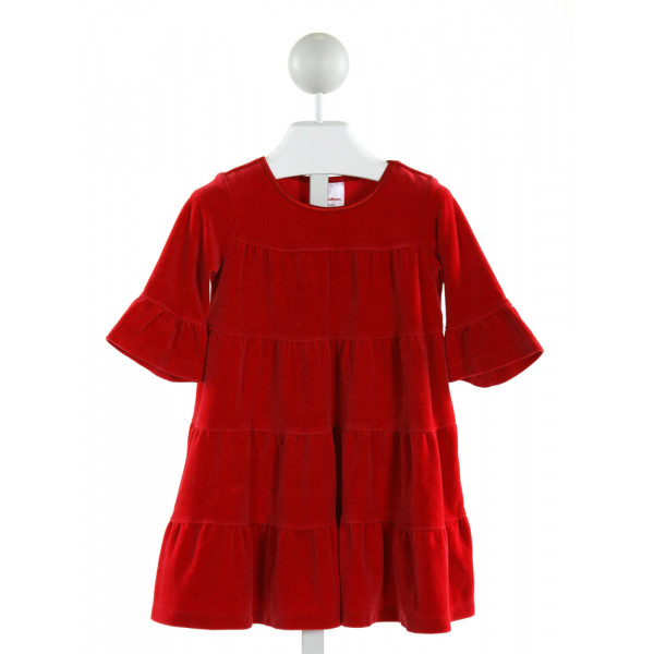 HANNA ANDERSSON  RED VELVET   DRESS
