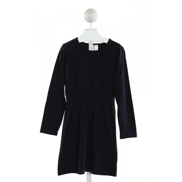 HANNA ANDERSSON  NAVY    KNIT DRESS