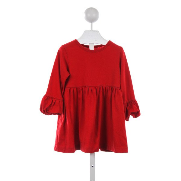 KELLYS KIDS RED KNIT TOP *SIZE 5/6