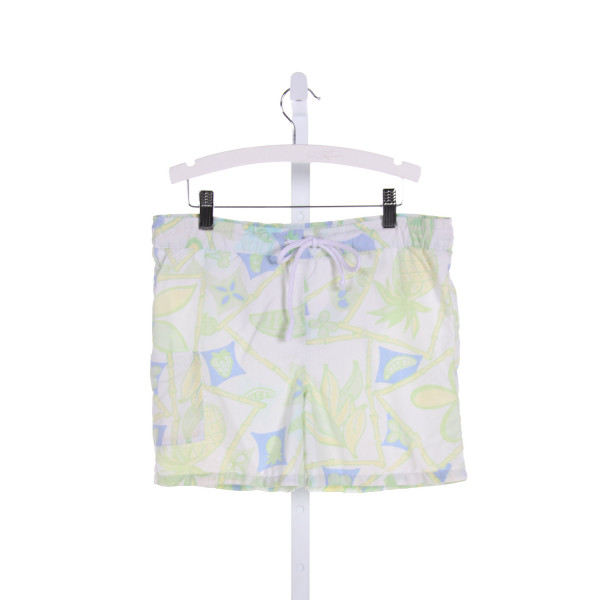 LILLY PULITZER  MULTI-COLOR   PRINTED DESIGN SWIM TRUNKS