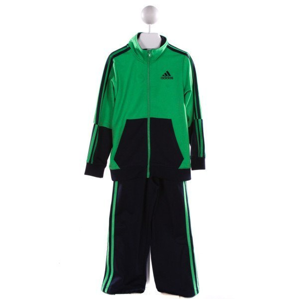 ADIDAS  MULTI-COLOR   APPLIQUED 2-PIECE OUTFIT
