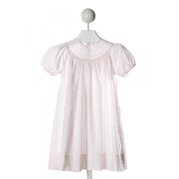 PETIT AMI  LT PINK   EMBROIDERED DRESS