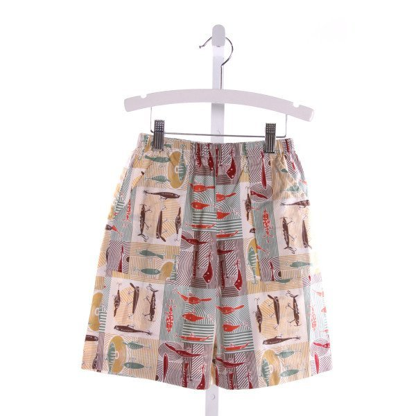 LOLLIPOP LAUNDRY  MULTI-COLOR   PRINTED DESIGN SHORTS