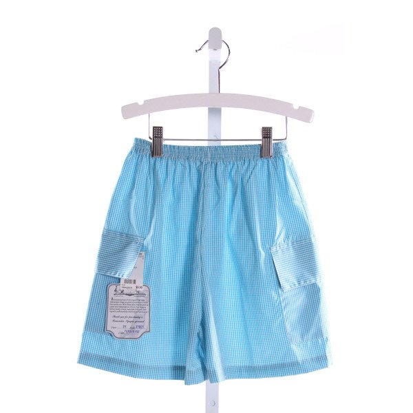 REMEMBER NGUYEN  LT BLUE    SHORTS