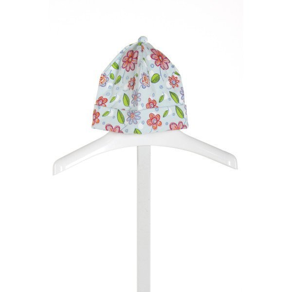 ZUTANO  LT BLUE  FLORAL  ACCESSORIES - HEADWEAR