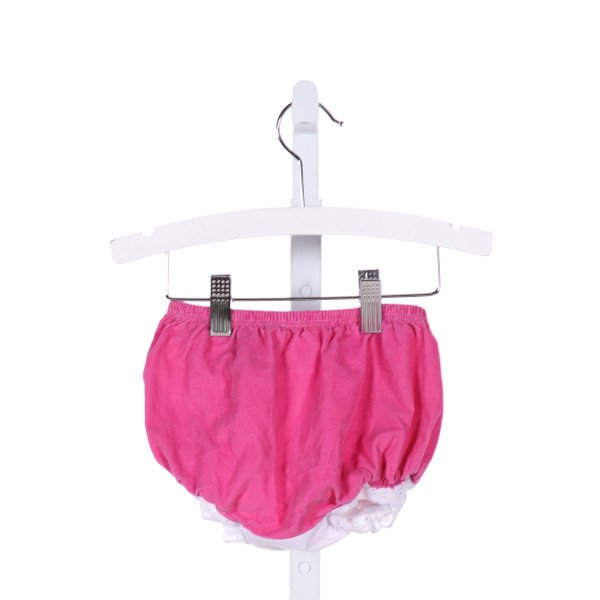 THE BEAUFORT BONNET COMPANY  PINK CORDUROY   BLOOMERS WITH RUFFLE
