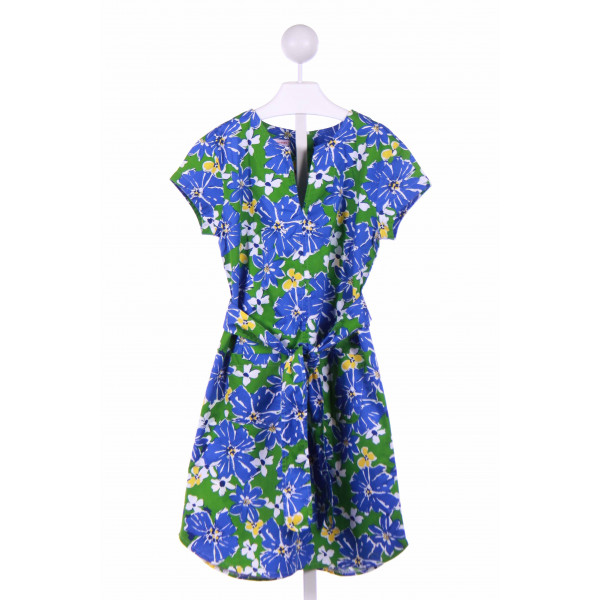 KAYCE HUGHES  GREEN  FLORAL  CASUAL DRESS