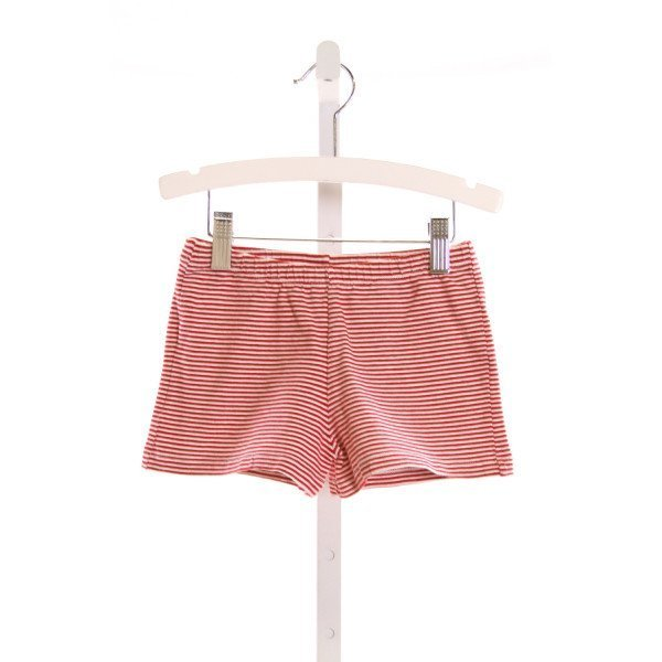 PAPO D'ANJO  RED  STRIPED  SHORTS