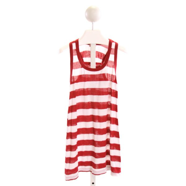 SPLENDID  RED  STRIPED  KNIT SS SHIRT