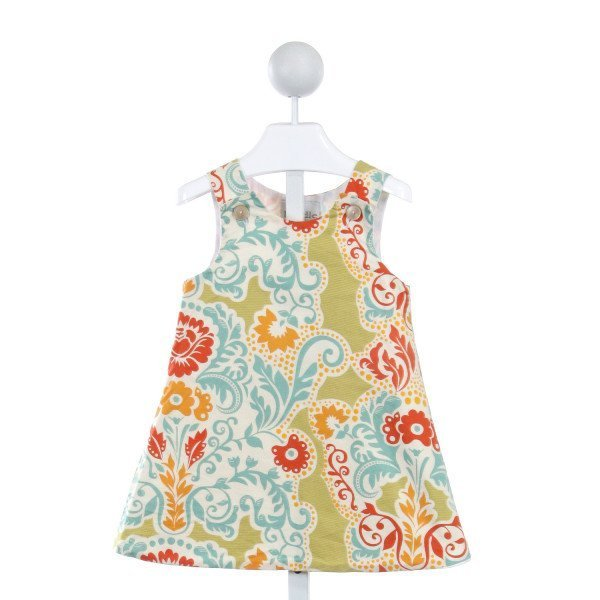 LOLLY WOLLY DOODLE  MULTI-COLOR  FLORAL  DRESS
