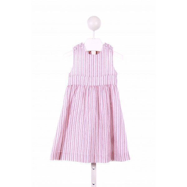 NECK & NECK  PINK  STRIPED  CASUAL DRESS