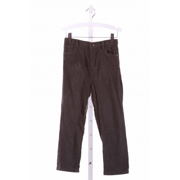THE LITTLE WHITE COMPANY  GRAY CORDUROY   PANTS