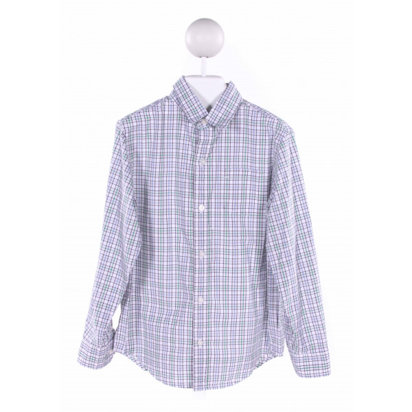 JANIE AND JACK  MULTI-COLOR  PLAID  CLOTH LS SHIRT