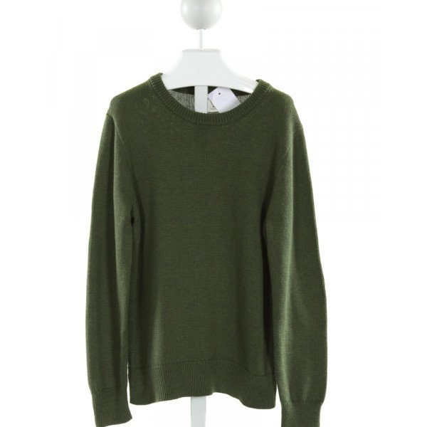 CREWCUTS FACTORY  GREEN    SWEATER