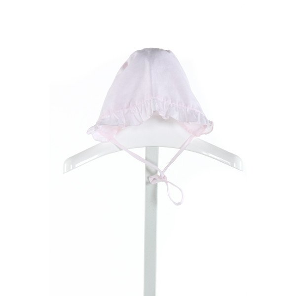 NO TAG  LT PINK   EMBROIDERED ACCESSORIES - HEADWEAR WITH RUFFLE