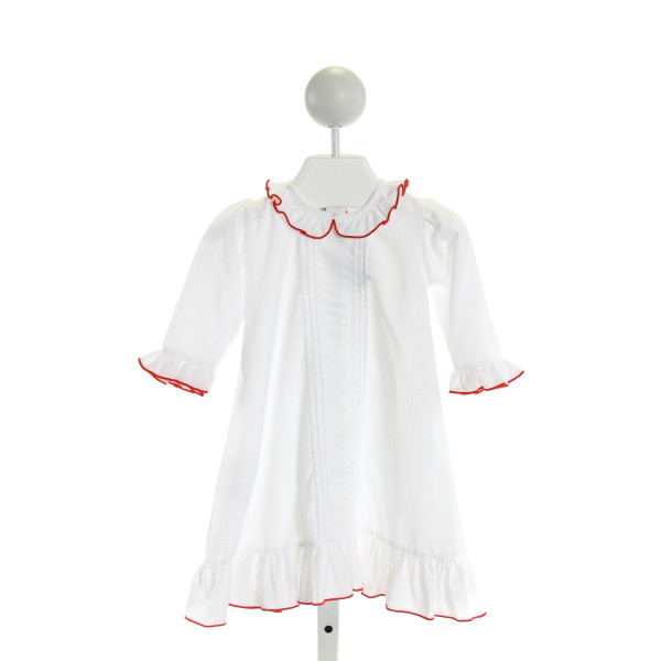 SWEET DREAMS  WHITE    DRESS WITH RUFFLE