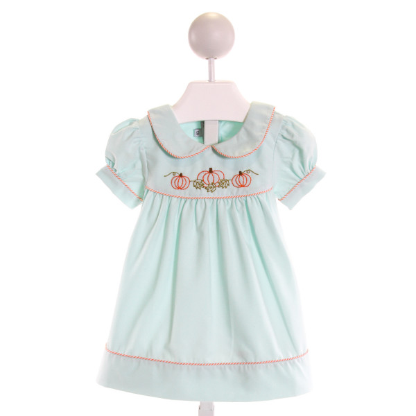 SWEET DREAMS  MINT   EMBROIDERED DRESS